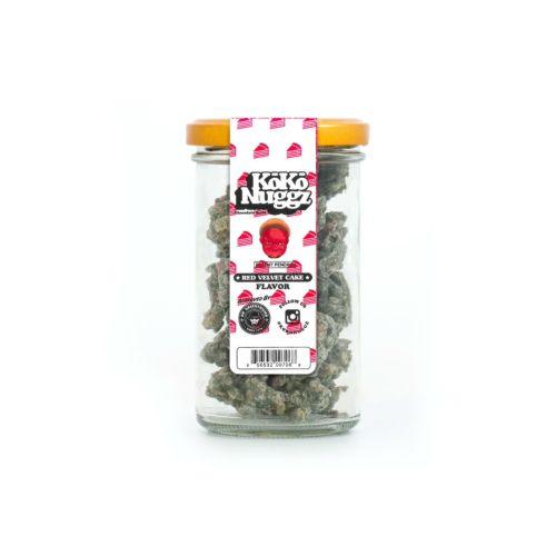Holygxd Red Velvet Cake Flavour Chocolate Budz (2.25oz) by KokoNuggz