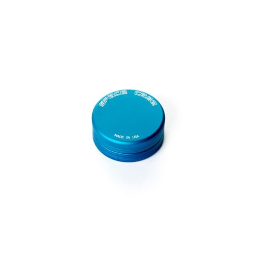 2 Piece (Small) Magnetic Matte (Blue) Space Case Grinder