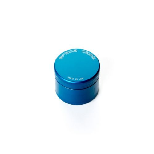 4 Piece (Small) Magnetic Matte Blue Space Case Grinder