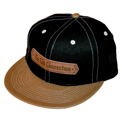 Cali Connection Strapback Cap - Brown Peak (Grassroots California) - Discontinued