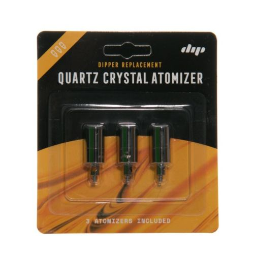 The Dipper Replacement Quartz Crystal Atomizer - Pack of 3