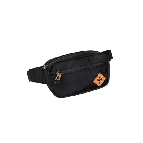 The Companion Black Cross Body Waist Bag by Revelry Supply