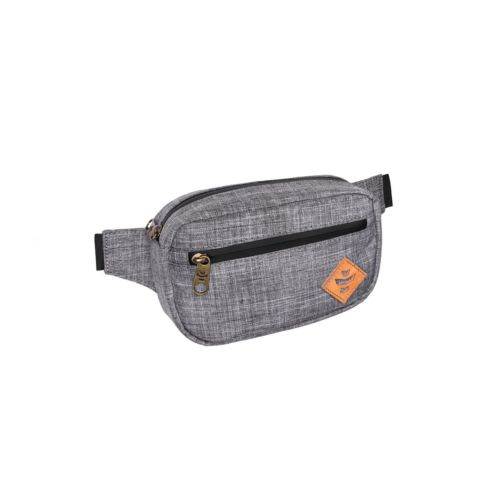 The Companion Crosshatch Grey Cross Body Waist Bag by Revelry Supply