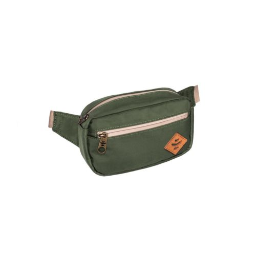 The Companion Green Cross Body Waist Bag by Revelry Supply