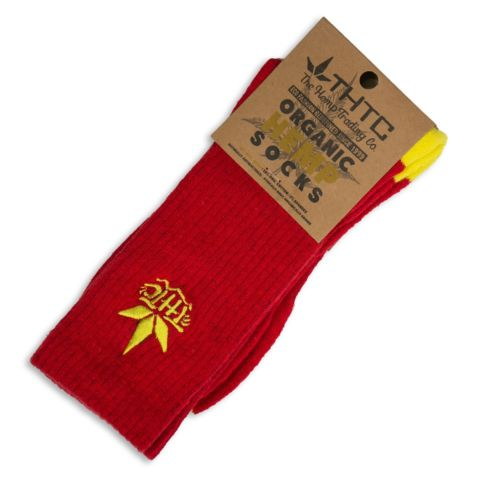 Organic Hemp Socks w/ THTC Stitching by THTC