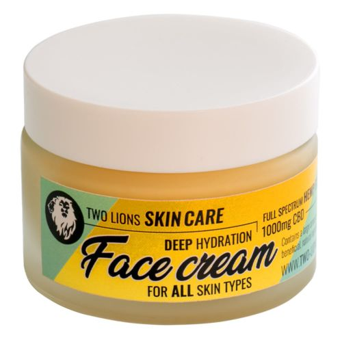 Organic CBD Face Cream By Two Lions