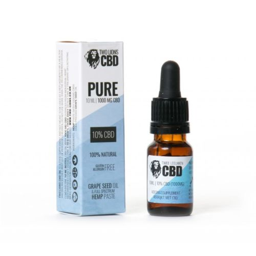 PURE – 10% CBD OIL by Two Lions