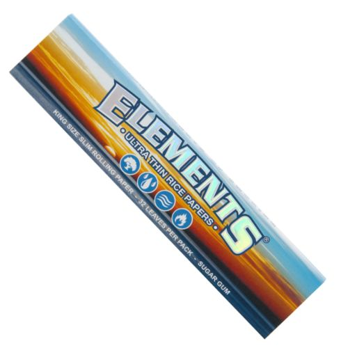 King Size Ultra-Thin Rice Rolling Papers by Elements