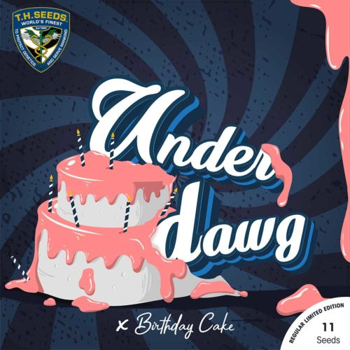 Underdawg Cake Regular Cannabis Seeds by T.H.Seeds