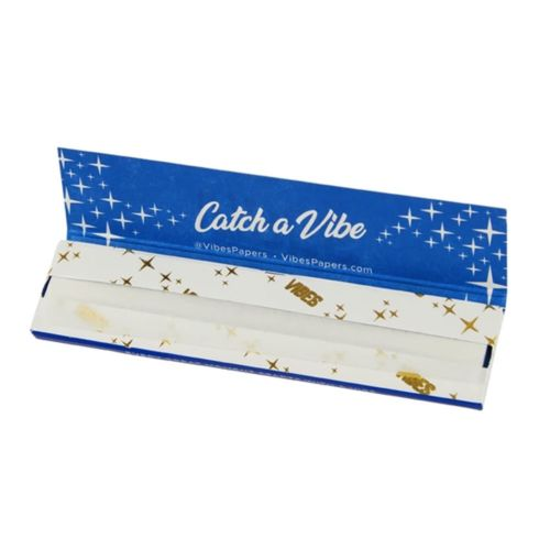 Vibes Rolling Papers – King Size Slim Rice (Blue)