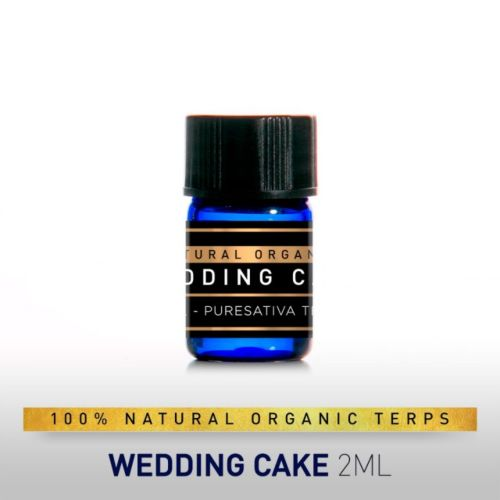PureSativa Terps - 100% Natural & Organic - Wedding Cake