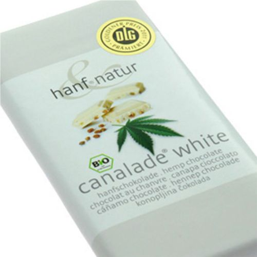 Hemp White Chocolate Canalade 100g - Hanf Natur