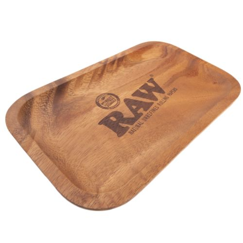 Genuine Wooden Rolling Tray by RAW