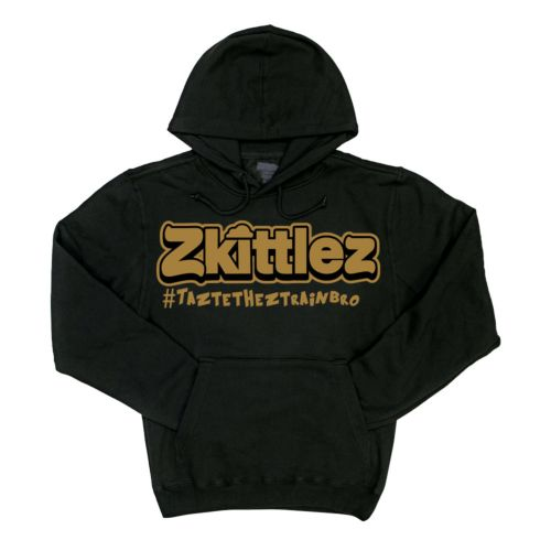 Official Zkittlez Taste The Z Train Gold Hoodie
