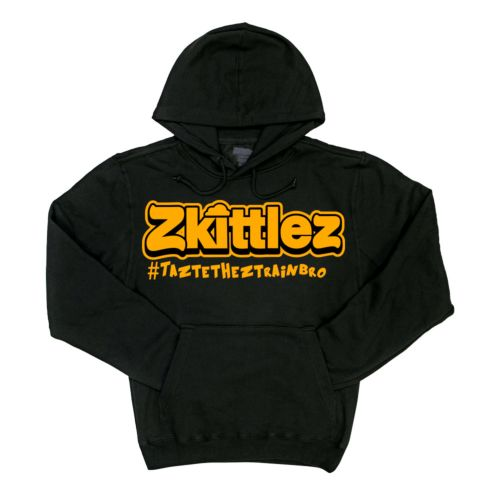 Official Zkittlez Taste The Z Train Orange Hoodie