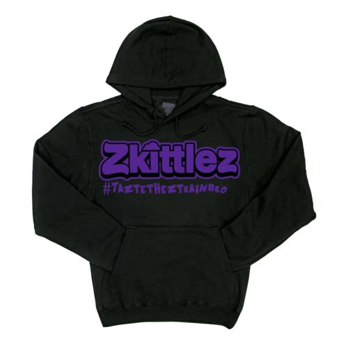Official Zkittlez Taste The Z Train Purple Hoodie