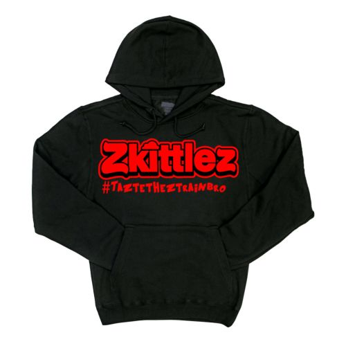 Official Zkittlez Taste The Z Train Red Hoodie