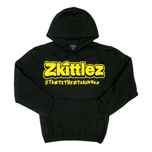 Official Zkittlez Taste The Z Train Yellow Hoodie