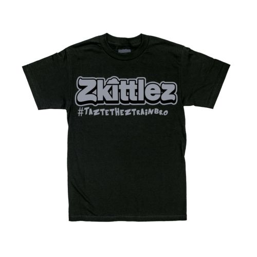 Official Zkittlez Taste The Z Train Grey T-Shirt