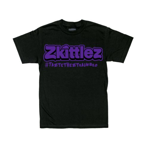 Official Zkittlez Taste The Z Train Purple T-Shirt