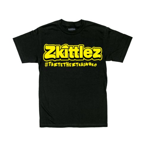 Official Zkittlez Taste The Z Train Yellow T-Shirt