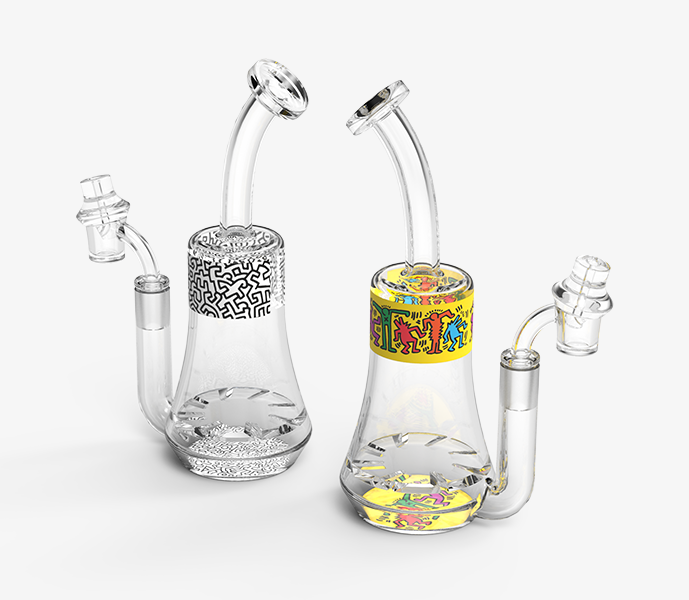 Keith Haring Glass Concentrat Rig Wholesale