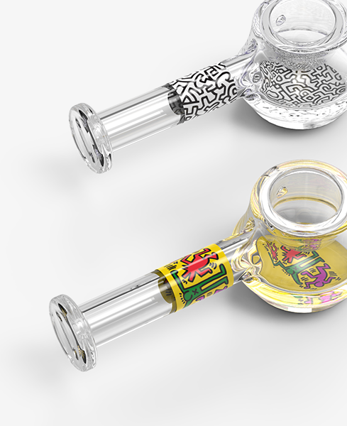 Keith Haring Glass Spoon Pipes Wholesale